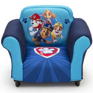 PAW Patrol Kids Toddler Upholstered Chair Furniture For Boys Bedroom Playroom US