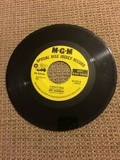 """Rare 1960's MGM The Animals """"Cheating"""" & """"Don't Bring Me Down"""" Promo 45 #K13514"""