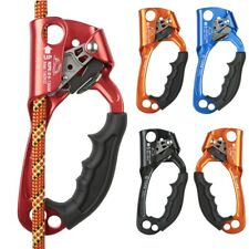 Srt Rock Climbing Hand Ascender Alloy Ergonomic Handled Riser Rappelling Gear