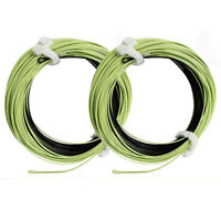 Fly Fishing Line Sink Tip Weight Forward Floating Fly Line 100FT 2 Welded Loops