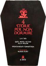 Dvd Quattro Storie per non dormire - cofanetto bara 4 dischi Horror Usato