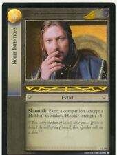 Lord Of The Rings CCG FotR Foil Card 1.C304 Noble Intentions