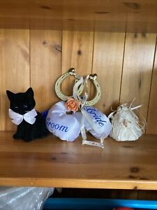 Wedding Double Heart Horseshoe, Black Cat, Boxing Gloves, Bell Good Luck Gifts