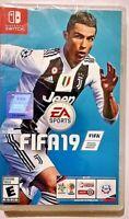 FIFA 19 (2018) Nintendo Switch ESPAÑOL LATINO NUEVO PRECINTADO