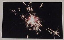 "Photography Unframed 4x6 Print, ""Sparkle"", Fireworks, Sparkler, Bright, 2016"