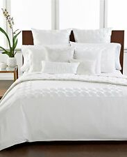 Hotel Collection Finest Embroidered Frame Queen Bedskirt White U187