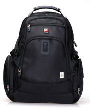 "SWISSWIN Swiss Backpack/Travel Backpack/School Back SWG9606 Black 17"" laptop"
