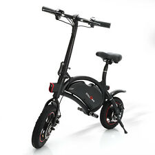 "Folding Electric Bike 12"" inch EBike Bicycle,Mechanical Disc Brakes,App Support"