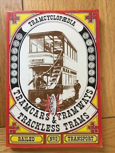 Tramcyclopedia Tramcars Tramways Trams ~ 60 Postcard Card Collection Book