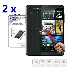 2x For HTC Desire 610 New Premium Real HD Tempered Glass Film Screen Protector