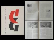 LE COURRIER GRAPHIQUE n°54 1951 JEAN FRELAUT, DIDEROT, ENCYCLOPEDIE, LE BRETON