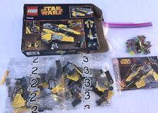 Lego 75038 Star Wars Jedi Interceptor w/ R2D2 & Anakin Figures 2014 Open