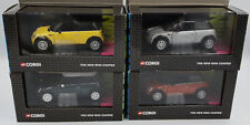 CARS : 1:36 SCALE MINI COOPER DIE CAST MODEL MADE BY CORGI VARIOUS COLOURS (BY)