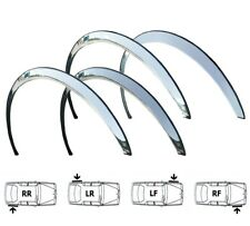 FORD FOCUS MK1 Brand New Custom Wing Wheel Arch Trims SET 4 pcs '98-04 CHROME