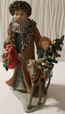 "Duncan Royale History Santa Ii Bavarian Santa Claus Figurine 11"" Limited Edition"