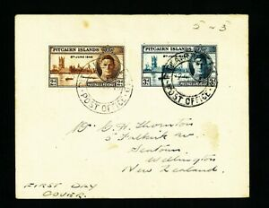PITCAIRN ISLAND FDC   1946    VF used cover  see 2 scan (579)