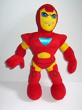 "Marvel Avengers Iron Man  12"" Soft Plush Toy  Super Hero Squad (Tony Stark)"