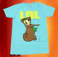New Yogi Bear LOL Hanna Barbera 1958 Men's Vintage Retro T-Shirt