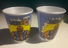VINTAGE 1983 MR. T from TV's THE A-TEAM PARTY CUPS (LOT OF 2) NEW, NO PACKAGING