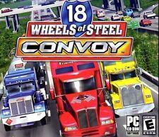 18 Wheels Of Steel Convoy PC Games Windows 10 8 7 XP Computer truck sim NEW
