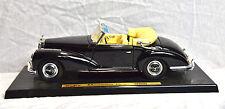 Maisto 1955 Mercedes Benz 300S black 1/18 loose