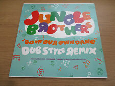 "Jungle Brothers – Doin' Our Own Dang (Dub Style Remix) Vinyl 12"" 45RPM Hip Hop"