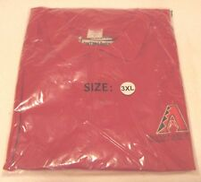 Arizona Diamondbacks Short Sleeve Polo Shirts Adult 3XL (3 Logos See pics)