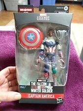 2021 Marvel Legends Series The Falcon Winter Soldier Captain America Action...