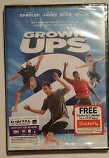 GROWN UPS 2 DVD, SANDLER, JAMES, ROCK, SPADE BRAND NEW COMBINE SHIPPING