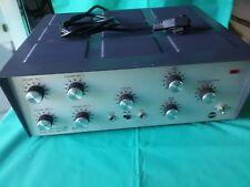 RCF AM 860 AMPLIFICATORE SOLID STATE Audio Vintage Originale Testato Funzionante
