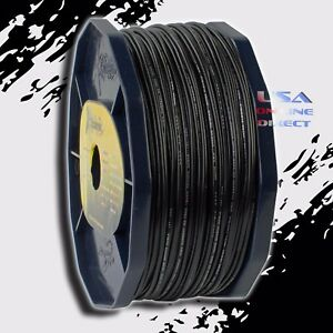 BLACK 16 Gauge AWG 100% OFC Copper 400ft. Stranded Primary Remote Wire Cable USA