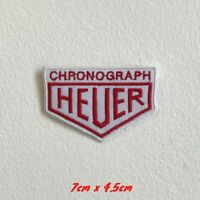 Chronograph Heuer watches badge Iron Sew On Embroidered Patch #1622