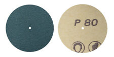 """100/Pk 1-1/2"""" #80 Grit Sanding Zirconia Blue Jewelry Discs with Pin-Hole Center"""