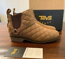 TEVA DE LA VINA DOS CHELSEA QUILTED LEATHER NEW BOOT DELAVINA WOMEN SZ 7 1093311