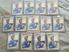 1989 FLEER KEN GRIFFEY JR ROOKIE (RC) LOT 13 CARDS