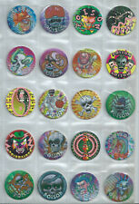 Lot kavel of 100 Poison pogs tazos Taiwan