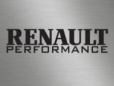 Renault Performance Car Vinyl Decals Stickers Van Window Clio Megane Truck Sport