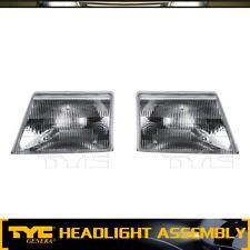 TYC 2X Headlight Lamp Assembly Left&Right Driver Passenger For 98-00 Ford Ranger