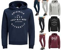 Jack & Jones Mens Hooded Sweatshirt or Jogging Bottoms Sweat Pants Mix & Match