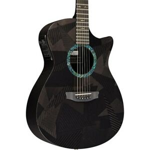 RainSong Black Ice Series Orchestra Acoustic-Electric Guitar Graphite