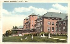 Murray Bay Quebec Manoir Richelieu c1920 Postcard #2