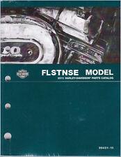 2015 Harley FLSTNSE CVO Softail Deluxe Parts Manual Catalog Book 99431-15