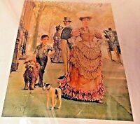 FIRST LADY Cross Stitch Kit, Heirloom Quality  Rags And Riches US SELLER NEW