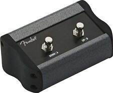Genuine Fender 2-Button Programmable Footswitch, Mustang Series III IV V Amps