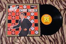 TWIST WITH CHUBBY CHECKER ORIGINAL 1962 PARKWAY P-7001 DOO-WOP BEAUTIFUL!