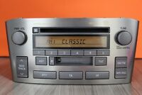 TOYOTA AVENSIS CD RADIO TAPE CASSETTE PLAYER 2004 2005 2006 2007 2008 W53901