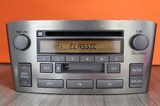 TOYOTA AVENSIS CD RADIO TAPE CASSETTE PLAYER 2004 2005 2006 2007 2008 W53901