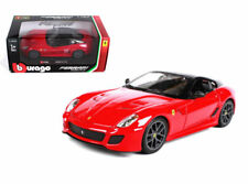 Bburago 1:24 Ferrari Race & Play Ferrari 599 GTO Diecast Car 26019 Red