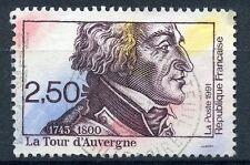 STAMP / TIMBRE FRANCE OBLITERE N° 2700 REVOLUTION / LA TOUR D'AUVERGNE