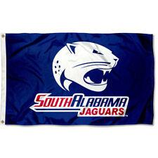 South Alabama Jaguars USA Blue Flag 3x5 Banner